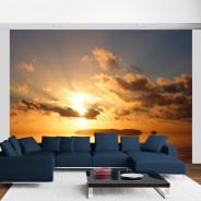Fototapeta - morze - zachód słońca