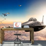 Fototapeta - Myśliwce F16