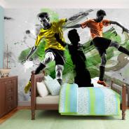 Fototapeta - Gwiazdy futbolu