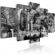 Obraz - Esencja Londynu - 5 części