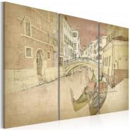 Obraz - City of lovers - triptych
