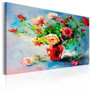 Obraz malowany - Piękne róże