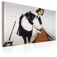 Obraz - Maid in London by Banksy