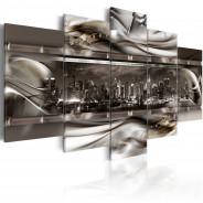 Obraz - Na grzbiecie metalowej fali