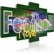 Obraz - I Love Football