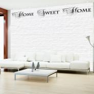 Fototapeta - Home, sweet home - white wall