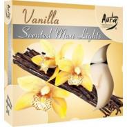 Zestaw świec zapachowych- wanilia 4 szt.