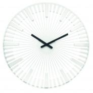 Zegar ścienny biały Piano
