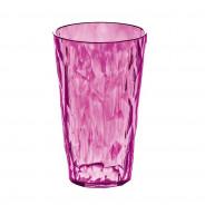 Szklanka na zimne napoje 0,45 L różowa CRYSTAL 2.0