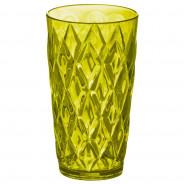 Szklanka 450 ml oliwkowa zieleń CRYSTAL L