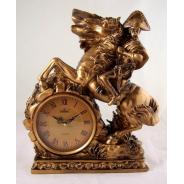 Złoty zegar D574BK