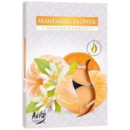 Zestaw świec zapachowych- KWIAT MANDARYNKI 6 szt.