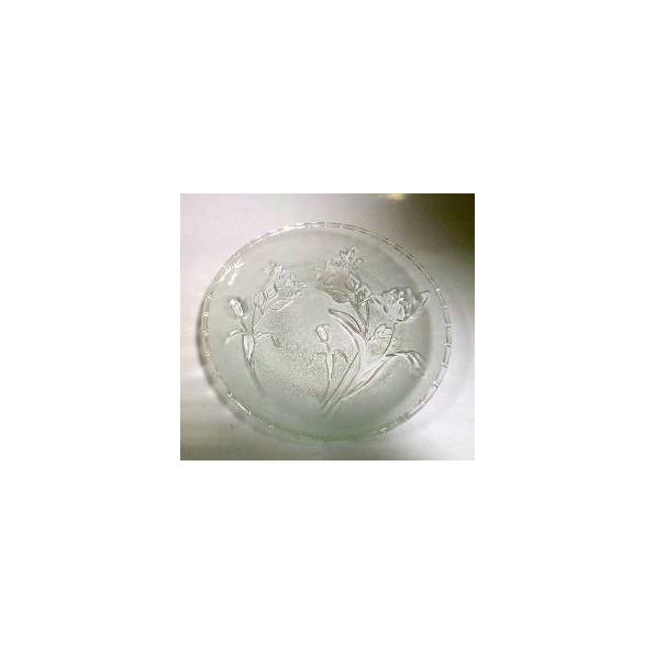 Talerz szklany 25 cm S130498