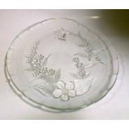 Talerz szklany 33 cm S130473