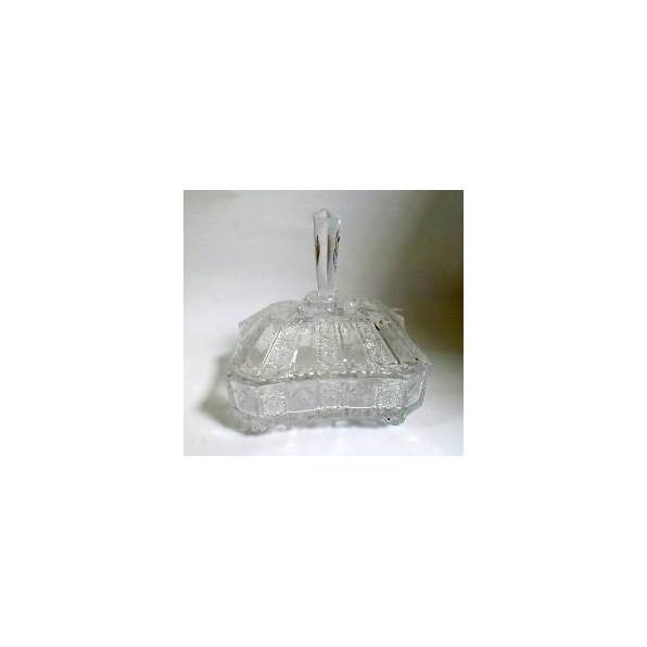 Bombonierka szklana S130606