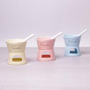 Zestaw do fondue dla 2 osób różne kolory