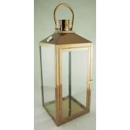 Lampion metalowy z szybkami Latarnia SAC-FF6634