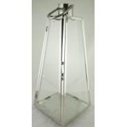 Lampion metalowy z szybkami Latarnia SAC-FF6693