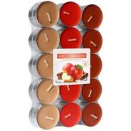 Zestaw świec zapachowych - Pomarańcza 30 szt. podgrzewacze