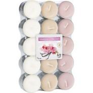 Zestaw świec zapachowych - Lawenda-fiołek 30 szt. podgrzewacze
