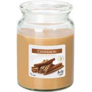 Świeca zapachowa w szkle z wieczkiem - Lawenda