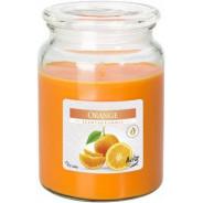 Świeca zapachowa w szkle z wieczkiem - Cynamon