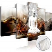 Obraz na szkle akrylowym - Kryształowy spokój [Glass]