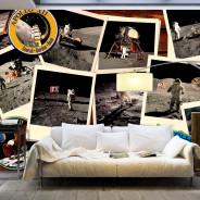 Fototapeta XXL - Księżycowe podróże