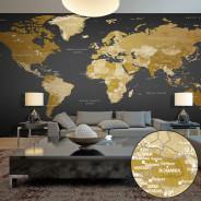 Fototapeta XXL - Mapa świata: Nowoczesna geografia II