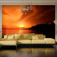 Fototapeta - Pomarańczowa zatoka