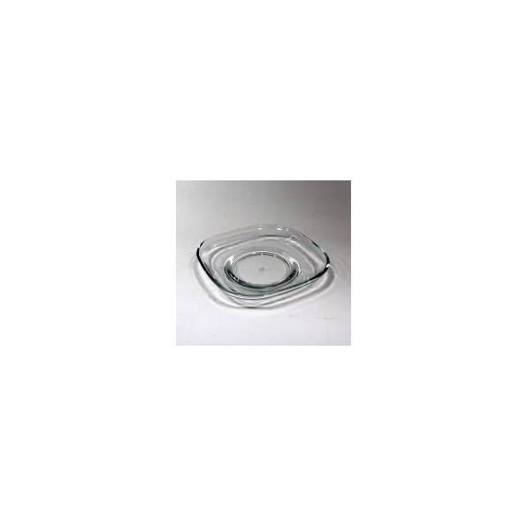 Talerz szklany 12.5 cm ZEN277