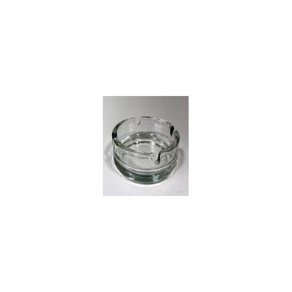 Popielniczka szklana 10 cm KEYF72 - komplet 2 szt