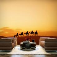 Fototapeta - W karawanie przez Saharę