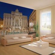 Fototapeta - Fontanna di Trevi - Rzym