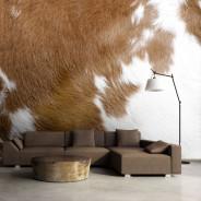 Fototapeta - Skóra krowy