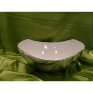Miska ceramiczna 25 x 21 x 7-10 cm 12784