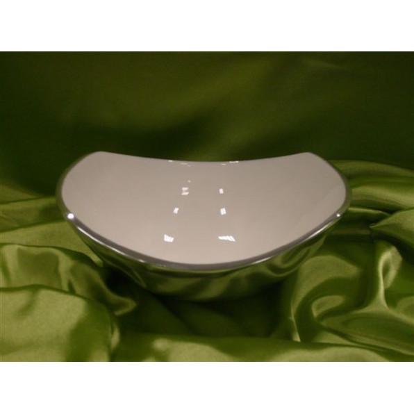 Miska ceramiczna 20,5 x 16,5 x 5-7 cm 12785