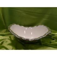 Miska ceramiczna 12410, 24,8 x 21 x 5 cm