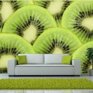 Fototapeta - Plasterki kiwi