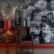 Fototapeta - Londyn, Londyn... (czarno-biały)