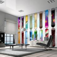 Fototapeta - Snowboard wall