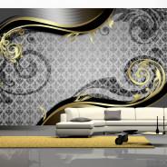 Fototapeta - Złoty ślimak