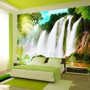 Fototapeta - PIękno natury: wodospad