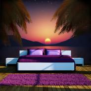 Fototapeta - Romantyczny wieczór na plaży