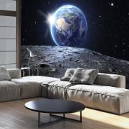 Fototapeta - Widok na Niebieską Planetę