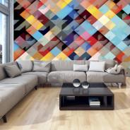 Fototapeta - Kolorowy patchwork