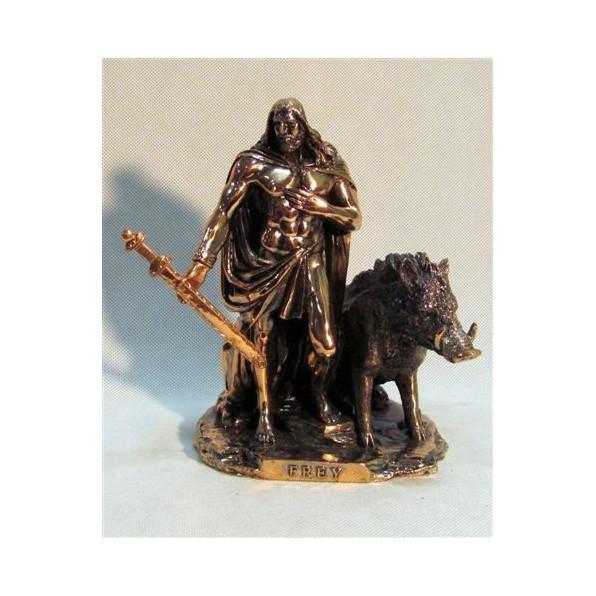 Figura Meżczyzna z dzikiem 76-T15364