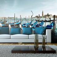Fototapeta XXL - Gondole na Canal Grande, Wenecja