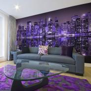 Fototapeta XXL - American violet