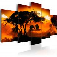Obraz - Afrykańska miłość